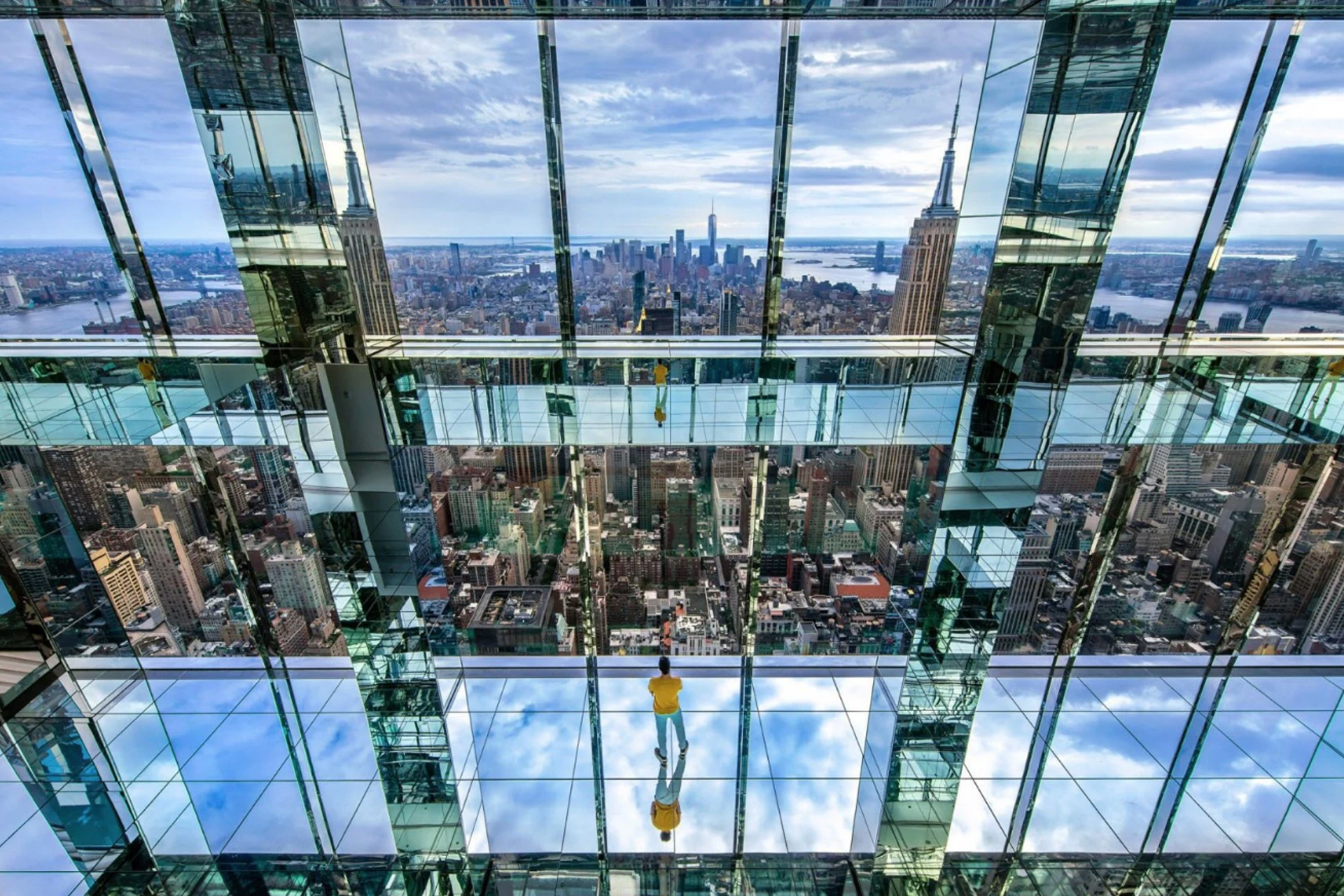 Immerse Yourself in NYC at the Summit One Vanderbilt's Latest Observation Deck